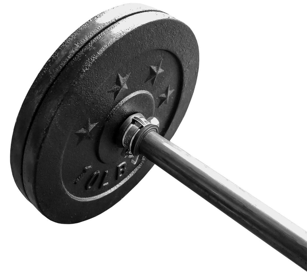 "Industrial Pipe Adjustable Dumbbell & Barbell (Size: 8"", 48"") Industrial Pipe (Iron) diycartel"