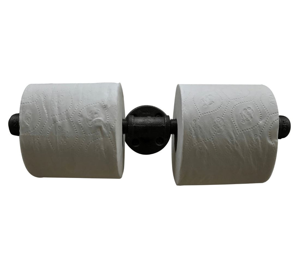 Industrial Pipe Toilet Paper Holder (3 styles) diycartel Multi-Roll Holder