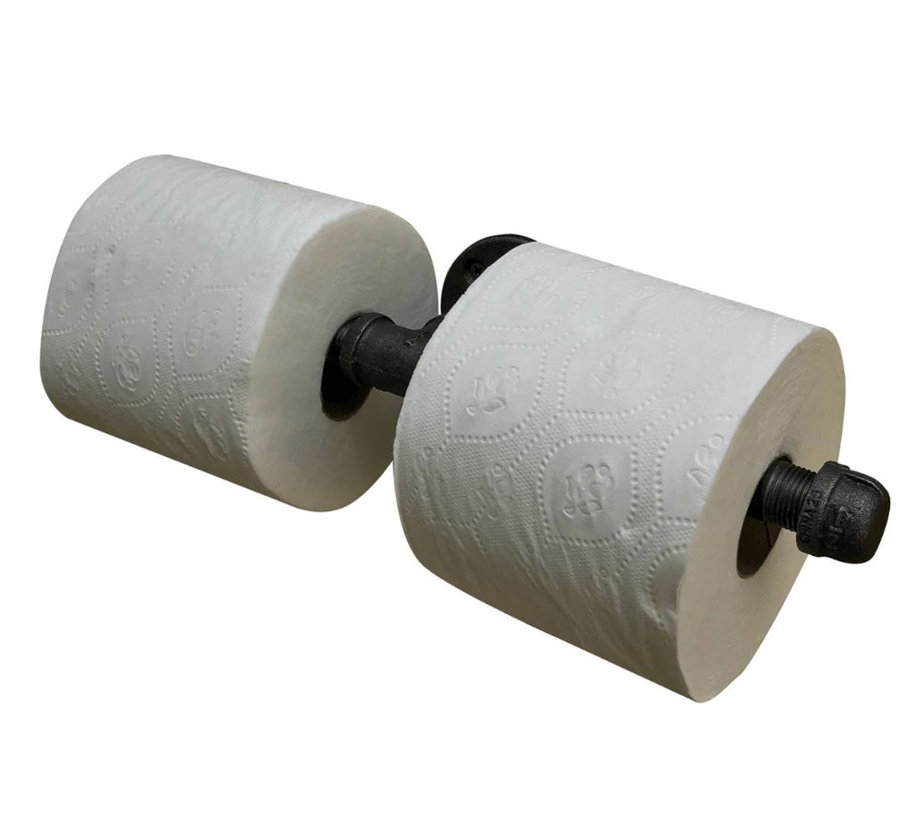 Industrial Pipe Toilet Paper Holder (3 styles) diycartel