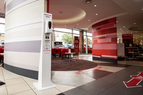 Toyota covid-secure workplace