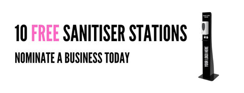 Hand Sanitising Station Giveaway