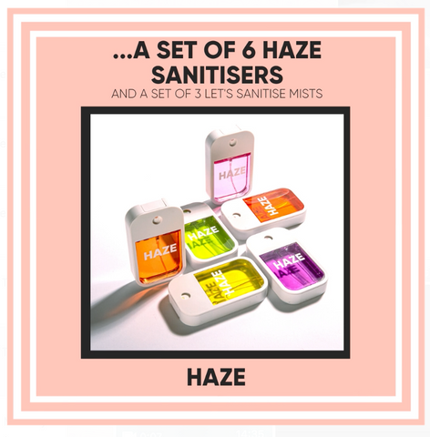 Haze Sanitiser Mist Spray - 12 Days of Christmas Giveaway