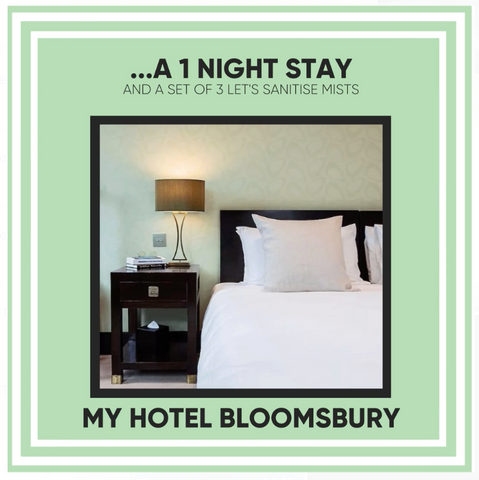My Hotel Bloomsbury London - Let's Sanitise Christmas Giveaway