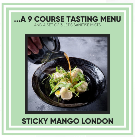 Sticky Mango London - 12 Days of Christmas Giveaway
