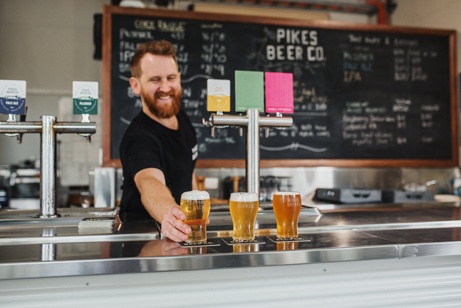 Alister Pike - Pikes Beer Co. Tap Room