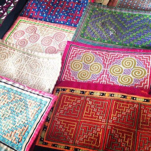 chiang mai postcard #3: embroidery, and what becomes of it