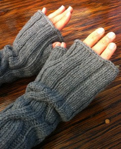 I left my heart (and some fingerless mitts) in...