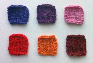 Introducing P.O.C's Spring 2011 Yarn Palette!