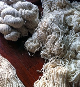 Launch of Pursuit of Craftiness Hand-spun Yarn