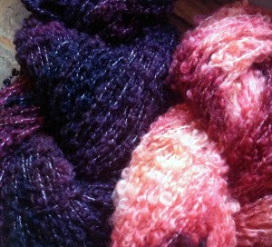 on the needles: from the dyepot