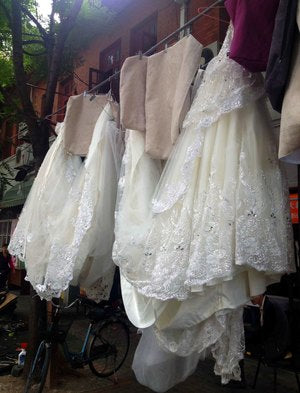 Shanghai: Wedding Dresses and Tea Eggs