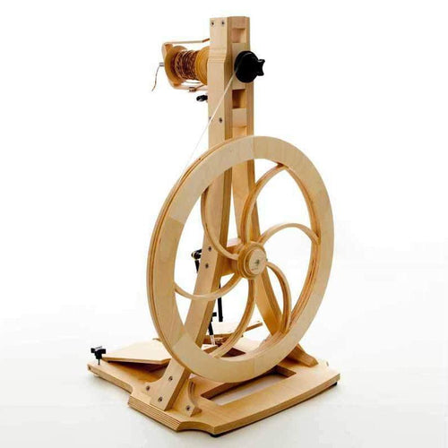 Artisan Spinning Wheel by Acadia Wheel and Loom-Loom-by-infinite-twist
