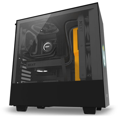 NZXT H500 Overwatch Desktop Gaming PC Computer Intel i3 8GB DDR4 4GB Graphics Card