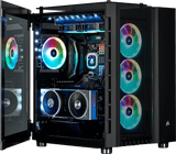 Corsair Crystal RGB Black Desktop Gaming PC Computer Intel i3 16GB DDR4 GeForce 4GB Graphics Card