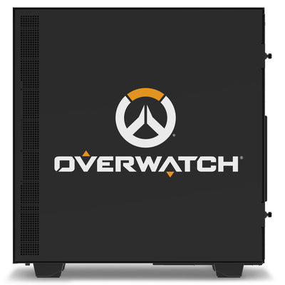 NZXT H500 Overwatch Desktop Gaming PC Computer AMD Ryzen 7 16GB DDR4 4GB Graphics Card