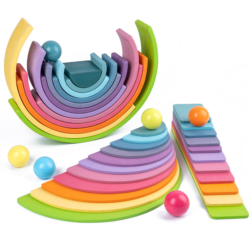 Rainbow Rolling Track Bundle