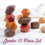 Jumbo Montessori Stacking Stones