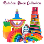 Rainbow Building Boxes
