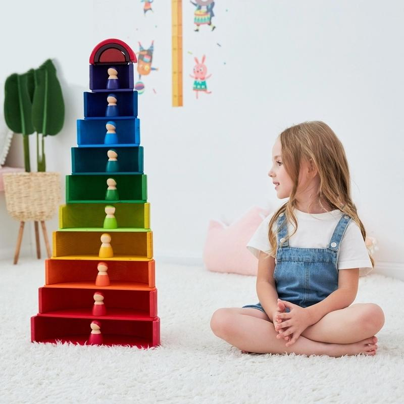 Rainbow Dollhouse Bundle