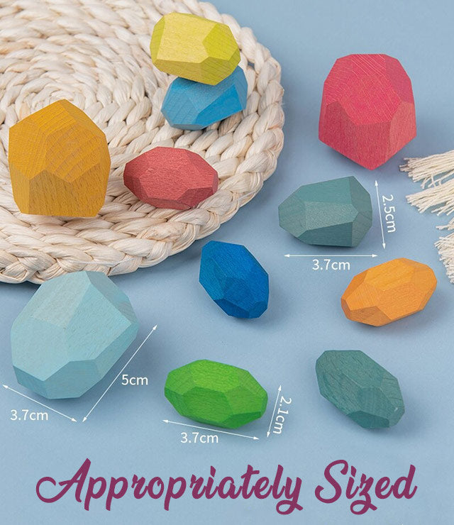 Montessori Stacking Stones