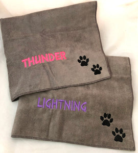 Dog Personalized Microfibre Towels