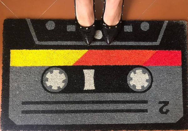 Retro Cassette Door Mat