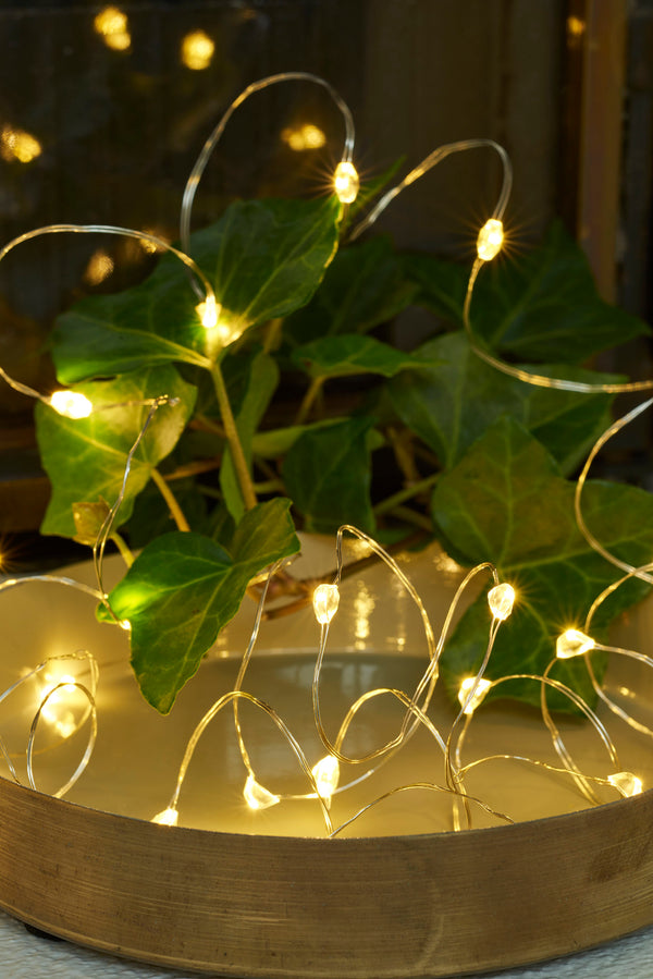 Knirke Cluster Fairylights - 20 LED (Battery Operated)