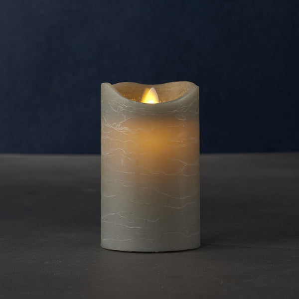 ASH LED CANDLE MEDIUM