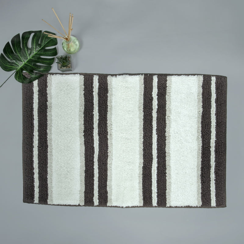 Spa Wide Stripe Mocha