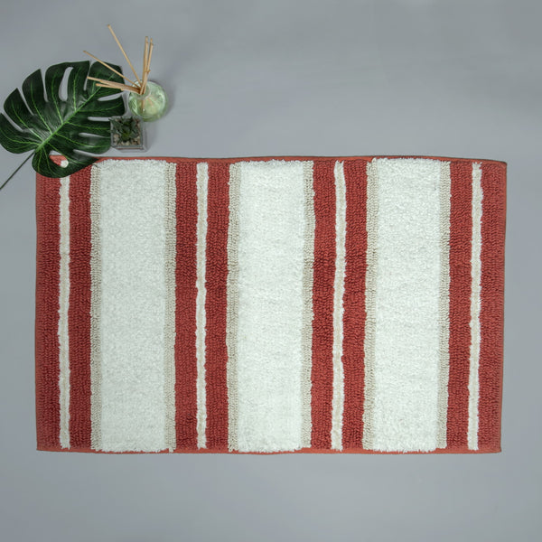 Spa Wide Stripe Terracotta