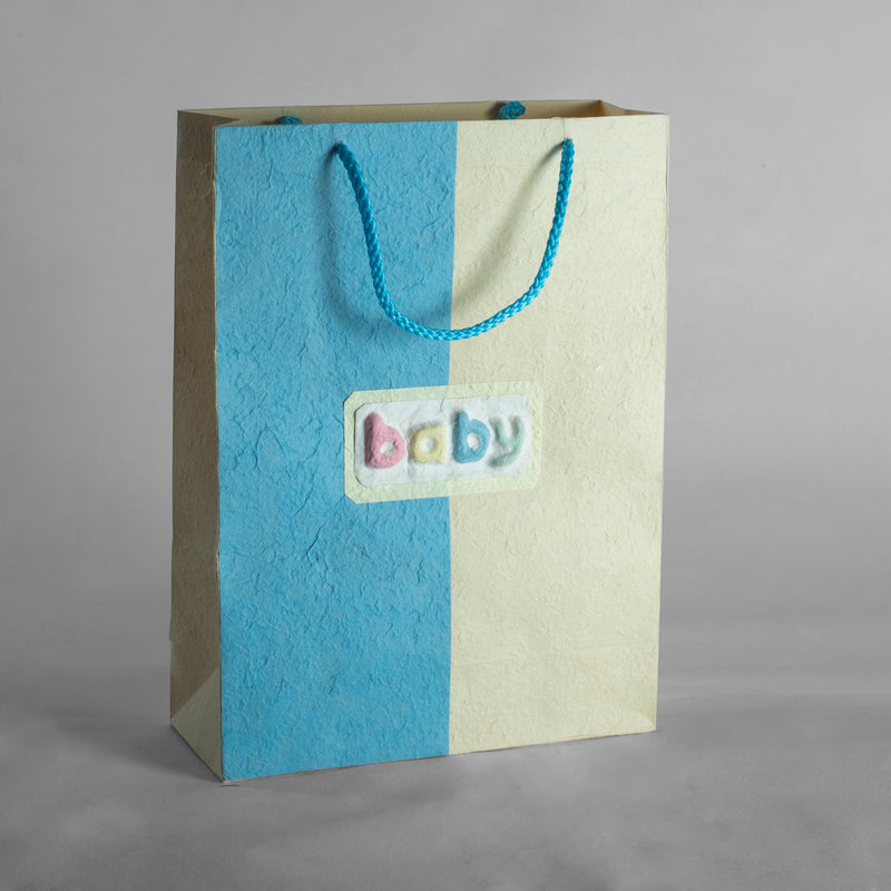Baby Silk Paper Gift Bag