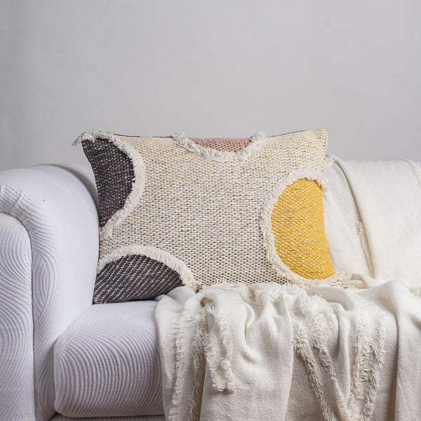 Eclipse Fringe Cushion Cover