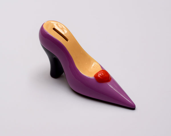 Stiletto Money Bank - Purple