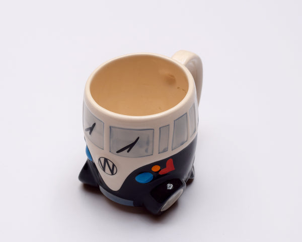 Love Van Milk Mug - Black
