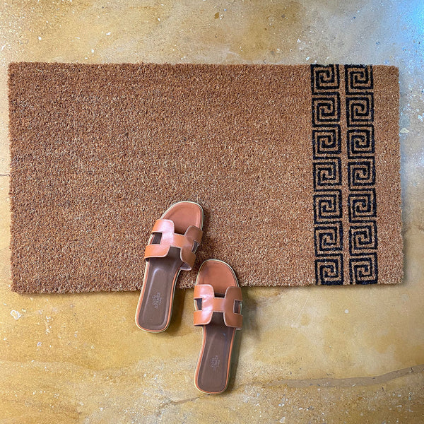 Slide Scroll Front Door Mat