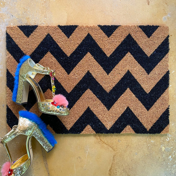 Chevron Door Mat