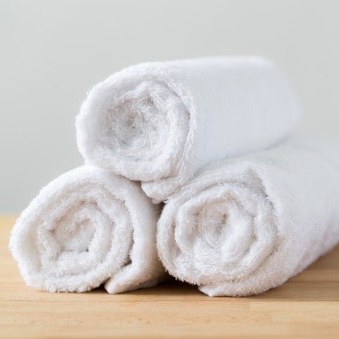 Hotel Snow-White Towel (Size Options)