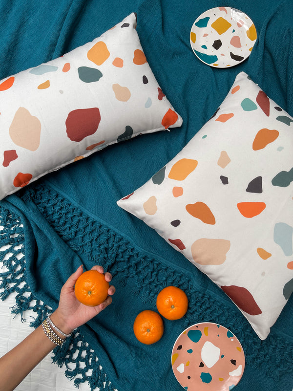 Terrazzo Long Cushion Cover
