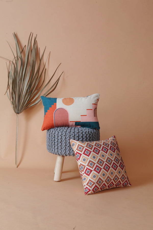 Moroccan Abode Cushion Cover