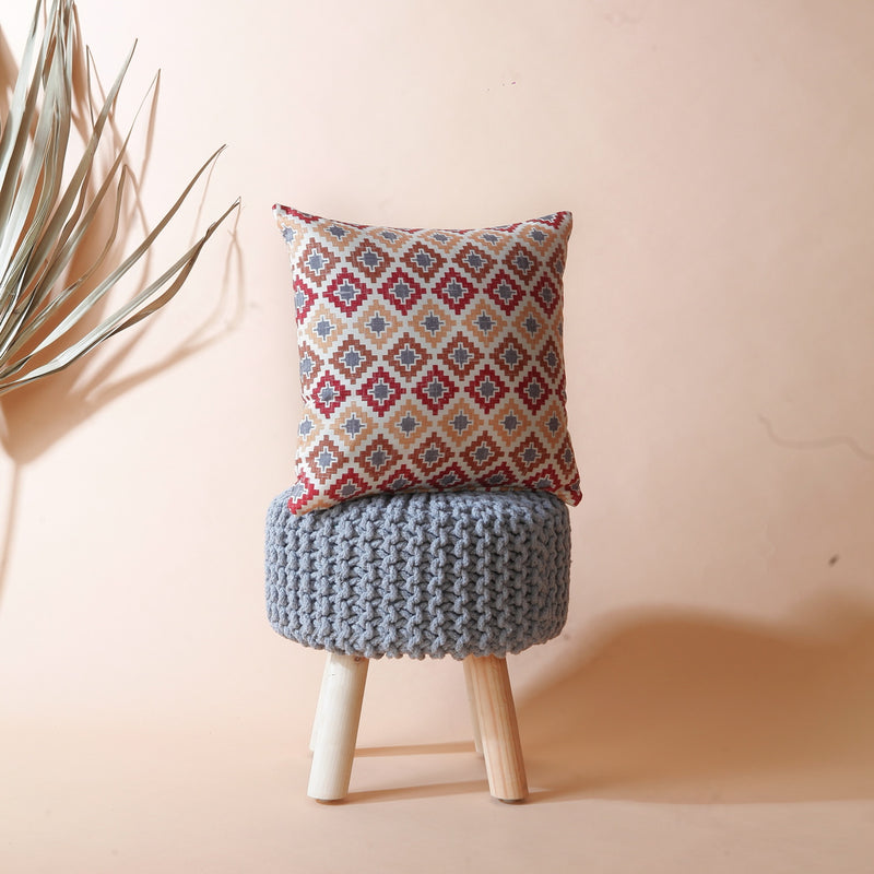 Moroccan Aztec Cushion Cover