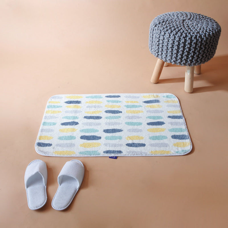 Pastel Swatch Washable Mat