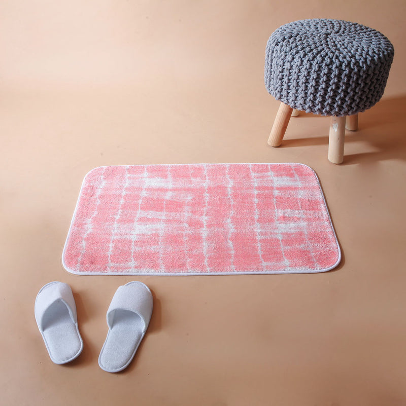 Coral Dip-Dye Washable Mat