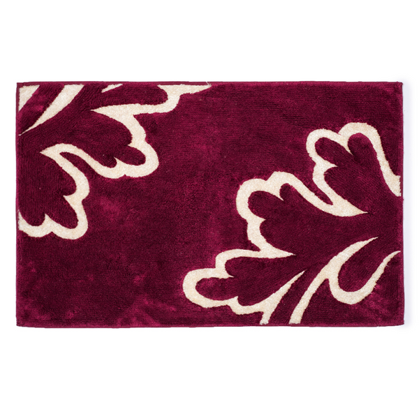 Fern Leaf Wine Bath Mat