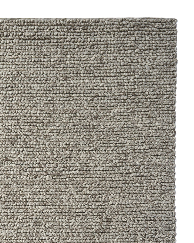 Woolen Braid Rug - Taupe