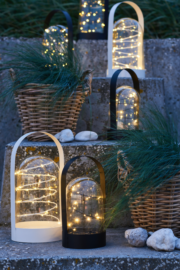 Artur Fairylight Lantern - White