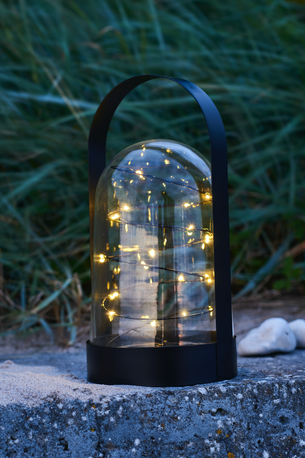 Artur Fairylight Lantern - Black