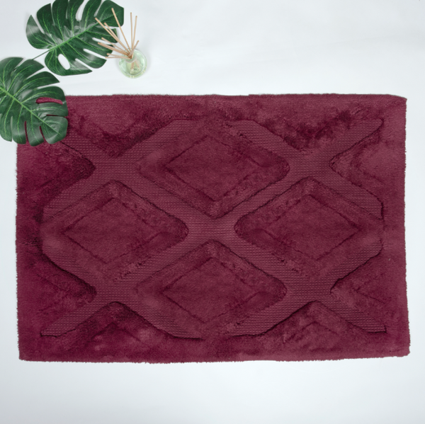 Diamond Wine Bathmat