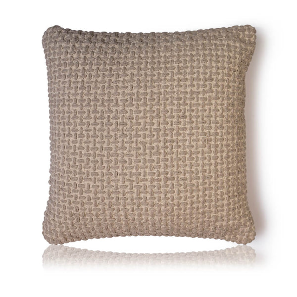 Chunky Basket Weave  Cushion Cover