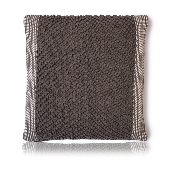 Dambru Charcoal Cushion Cover