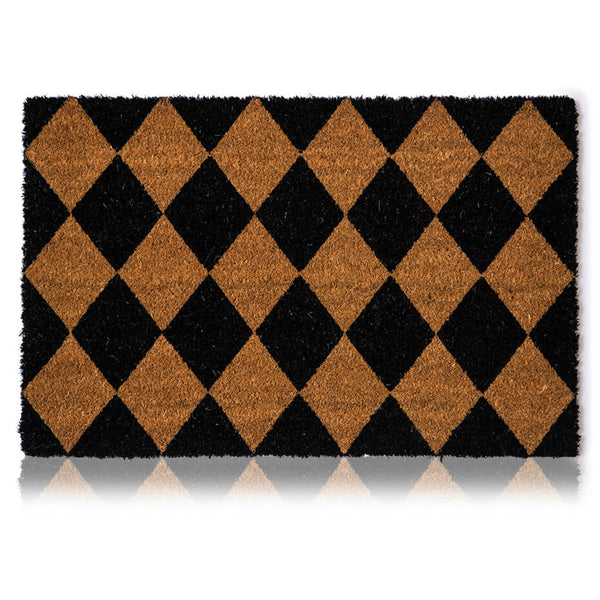 Checkered Door Mat